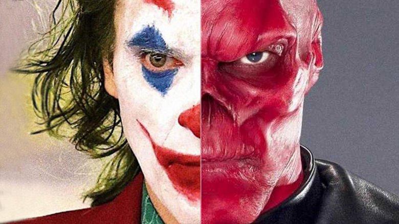 Joaquin Phoenix Joker Hugo Weaving Red Skull