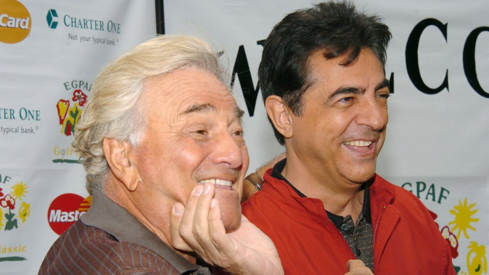 Joe Mantegna and Peter Falk
