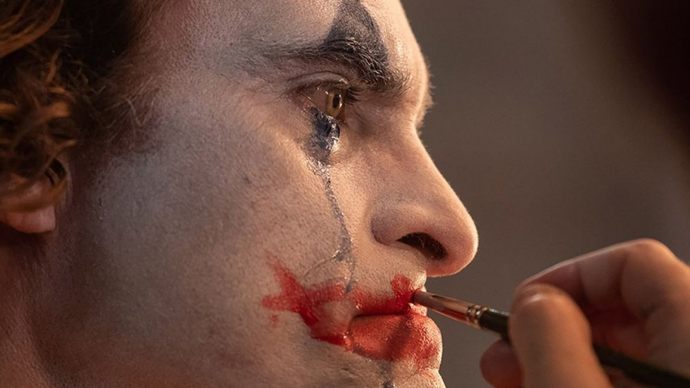 Joaquin Phoenix Joker makeup