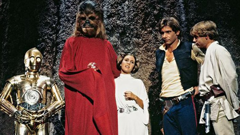 Still from the Star Wars Holiday Special
