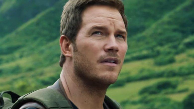 Chris Pratt as Owen Grady in Jurassic World: Fallen Kingdom
