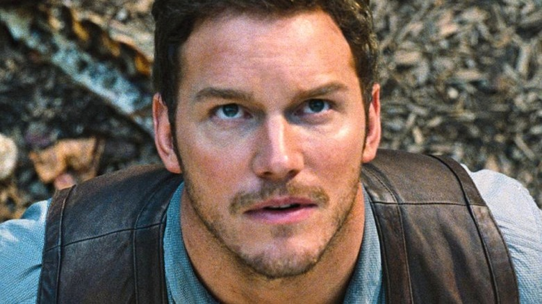 Chris Pratt as Owen Grady in Jurassic World