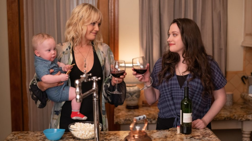 Malin Akerman and Kat Dennings in Friendsgiving