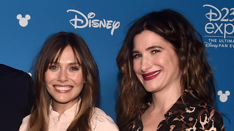 Elizabeth Olsen and Kathryn Hahn