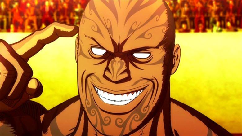 Kengan Ashura Muteba Gizenga Face
