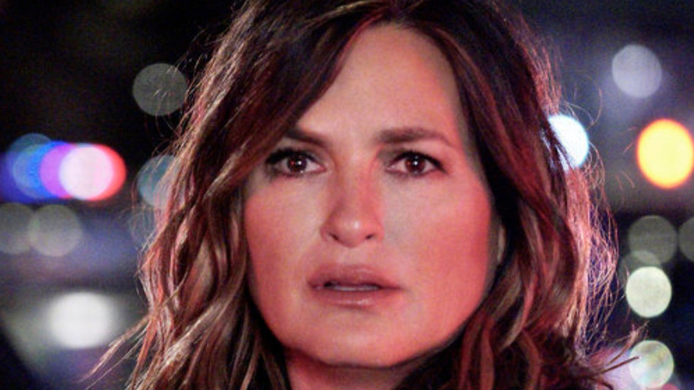 Olivia Benson surprised