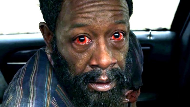 Morgan red eyes