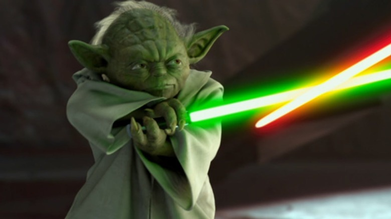 Yoda dueling