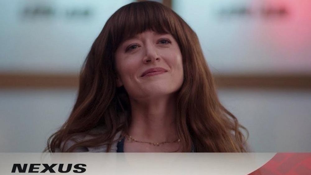 Woman in WandaVision Nexus commercial