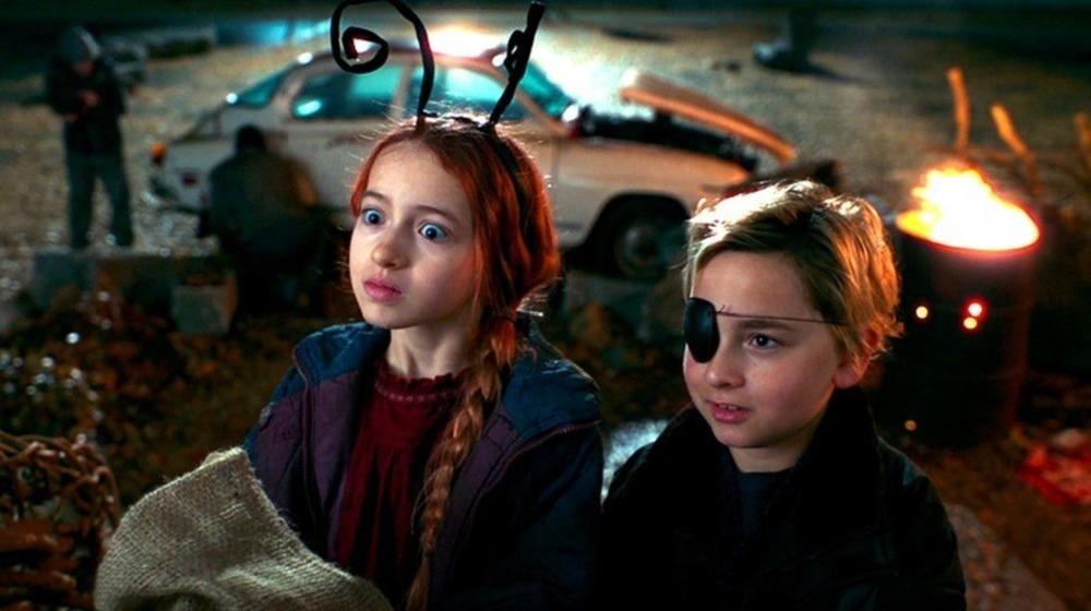 Young Wanda and Pietro