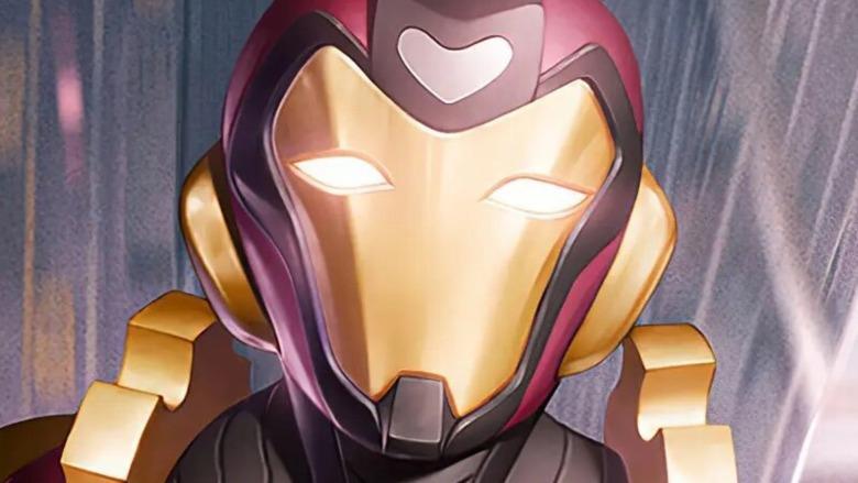 Ironheart up close