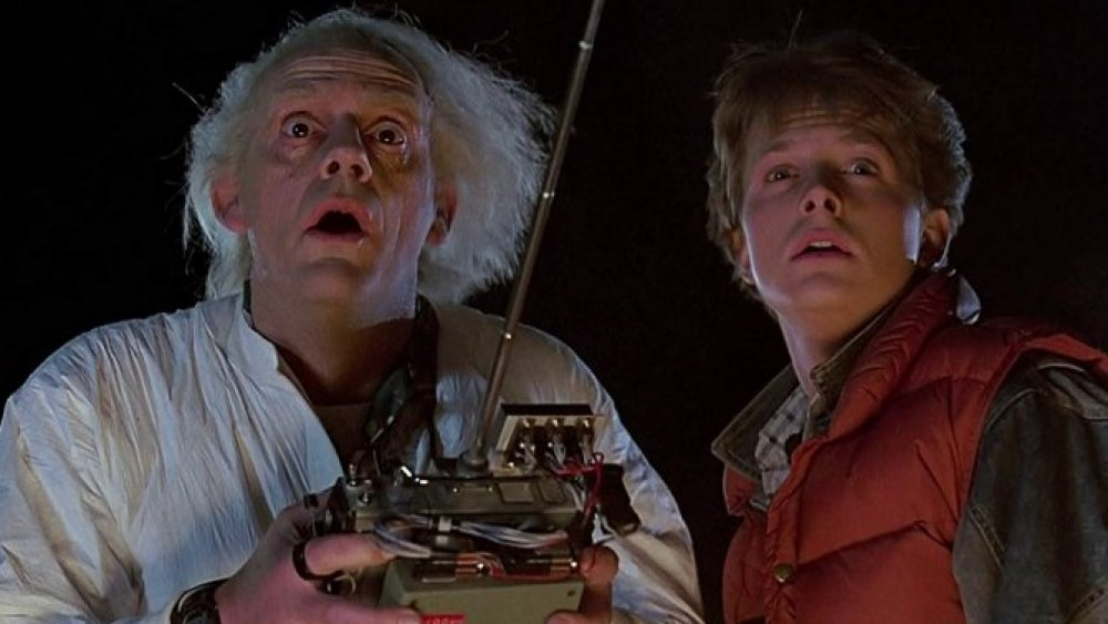 Still from Back to the Future