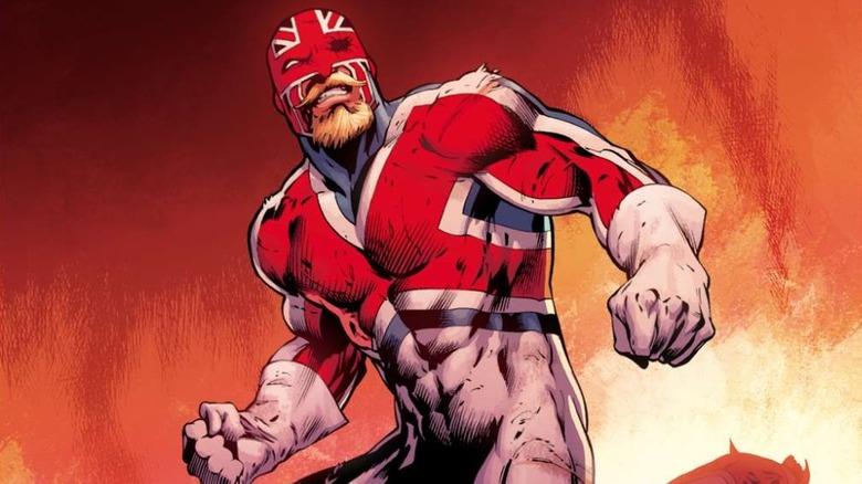 Captain Britain by Dustin Weaver