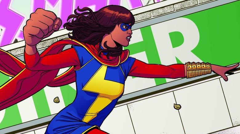 Ms. Marvel by Jamie McKelvie