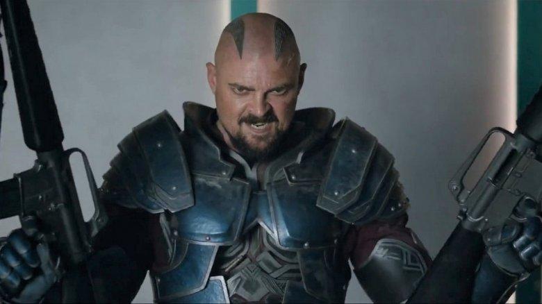 Karl Urban in Thor: Ragnarok