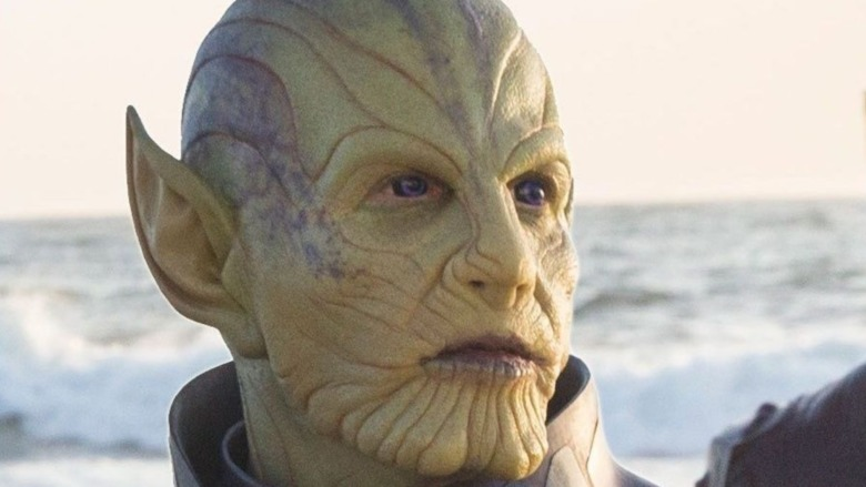 Skrull looking to the distance
