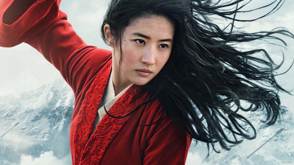 Disney's live-action Mulan remake poster