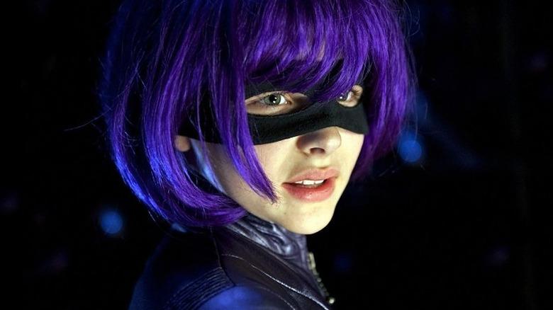 Chloë Grace Moretz as Hit Girl in Kick-Ass