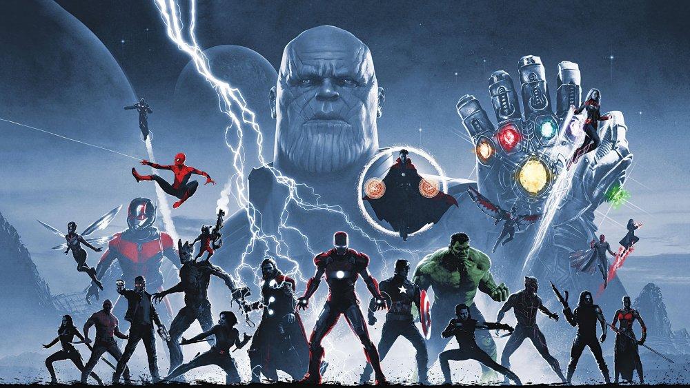 MCU Infinity Saga
