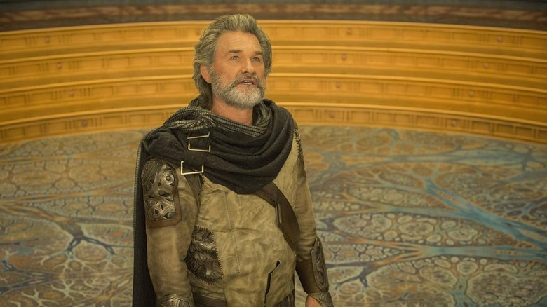Kurt Russell as Ego from Guardians of the Galaxy Vol. 2