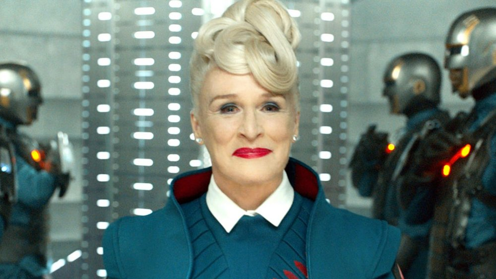 Glenn Close in Guardians of the Galaxy