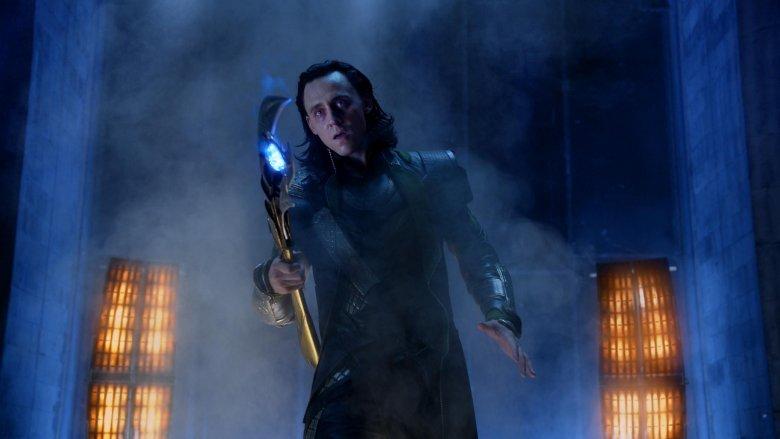 Scene from Avengers
