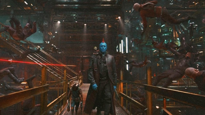 Scene from Guardians of the Galaxy Vol. 2