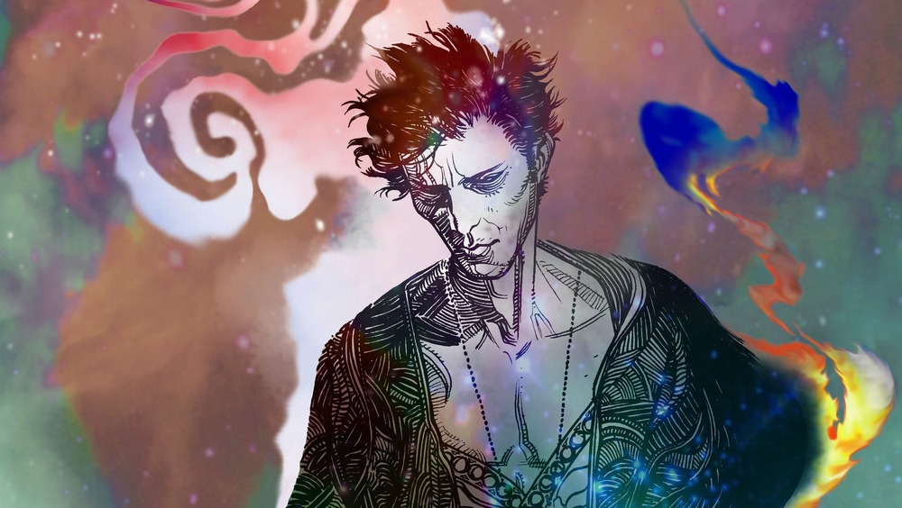 Sandman Overture drawing of dark figure