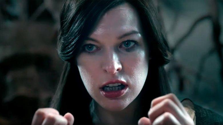 Milla Jovovich Hellboy Nimue the Blood Queen