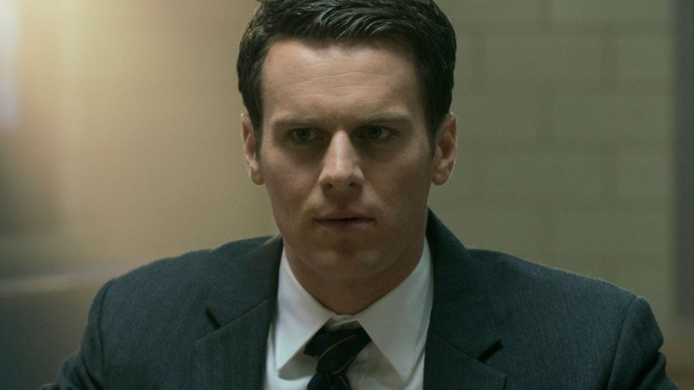 Jonathan Groff as Holden on Mindhunter