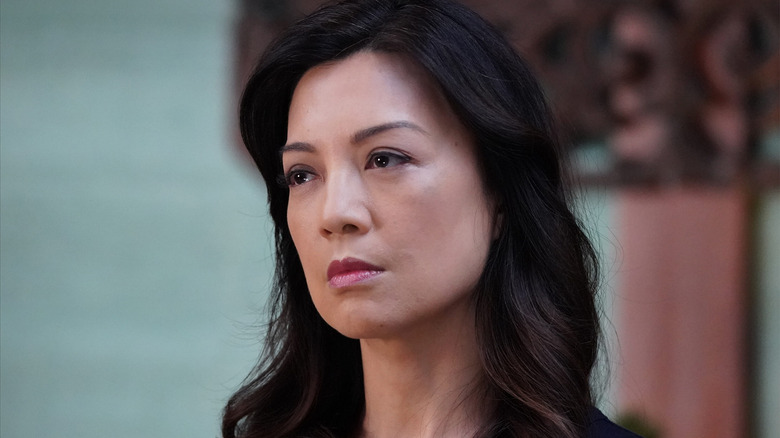 Ming-Na Wen as Melinda May on Agents of S.H.I.E.L.D.