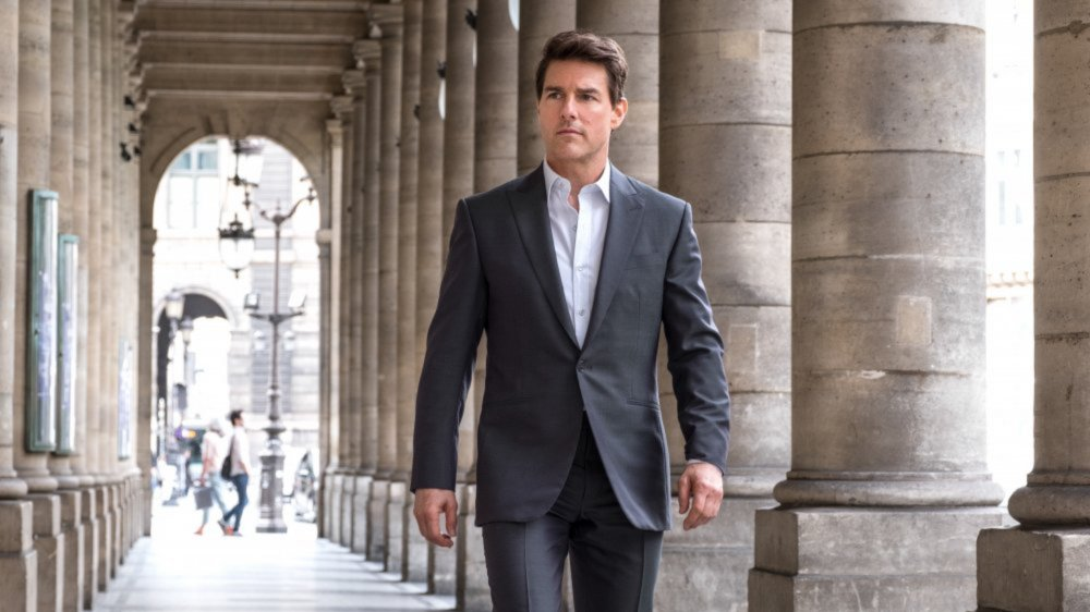 Tom Cruise as Ethan Hunt in Mission: Impossible 6