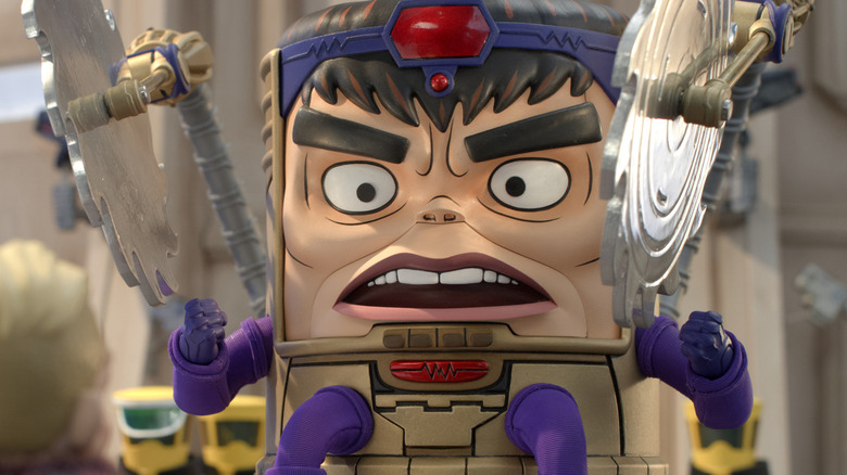 First-look photo of Marvel's MODOK on Hulu
