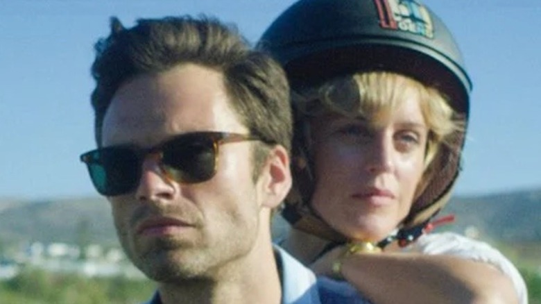 Sebastian Stan and Denise Gough in Monday