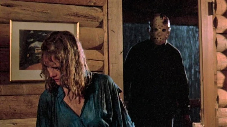Kimberly Beck as Trish Jarvis, Ted White as Jason Vorhees