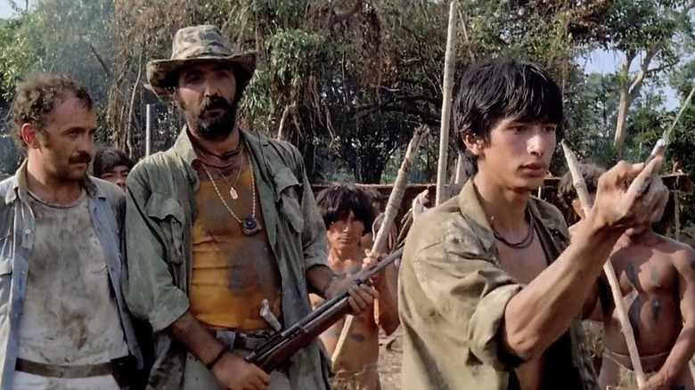 Scene from Cannibal Holocaust