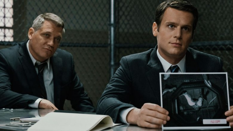 Jonathan Groff Holt McCallany Mindhunter