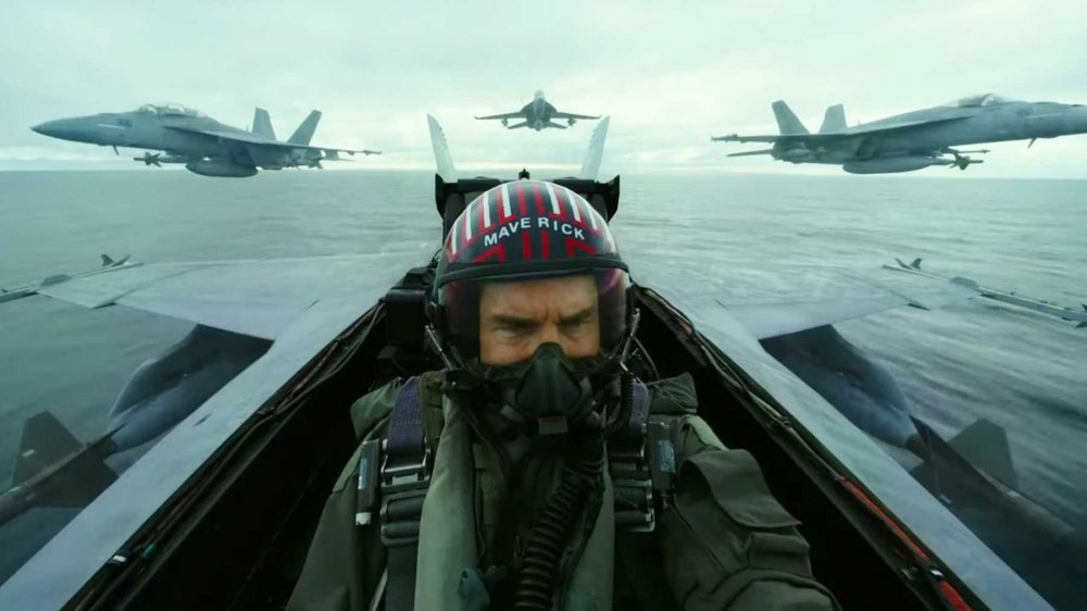 Tom Cruise in Top Gun: Maverick