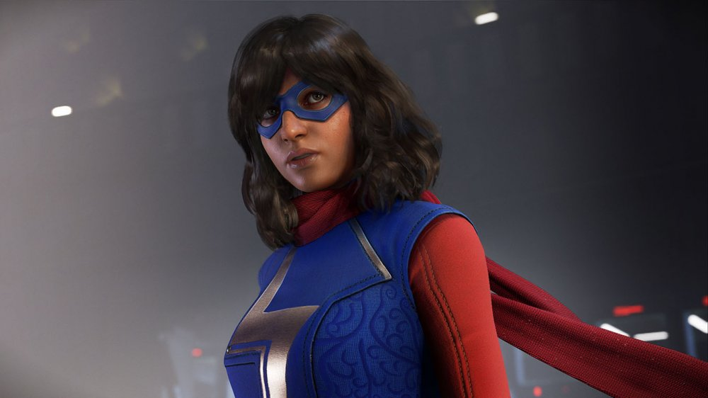 Ms. Marvel in Marvel's Avengers, as played by Sandra Saad