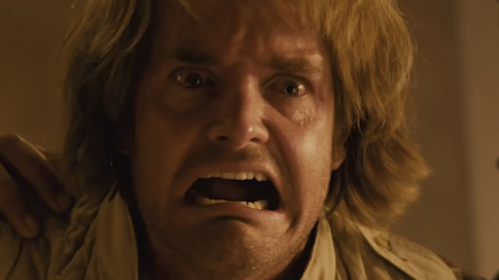MacGruber in anguish