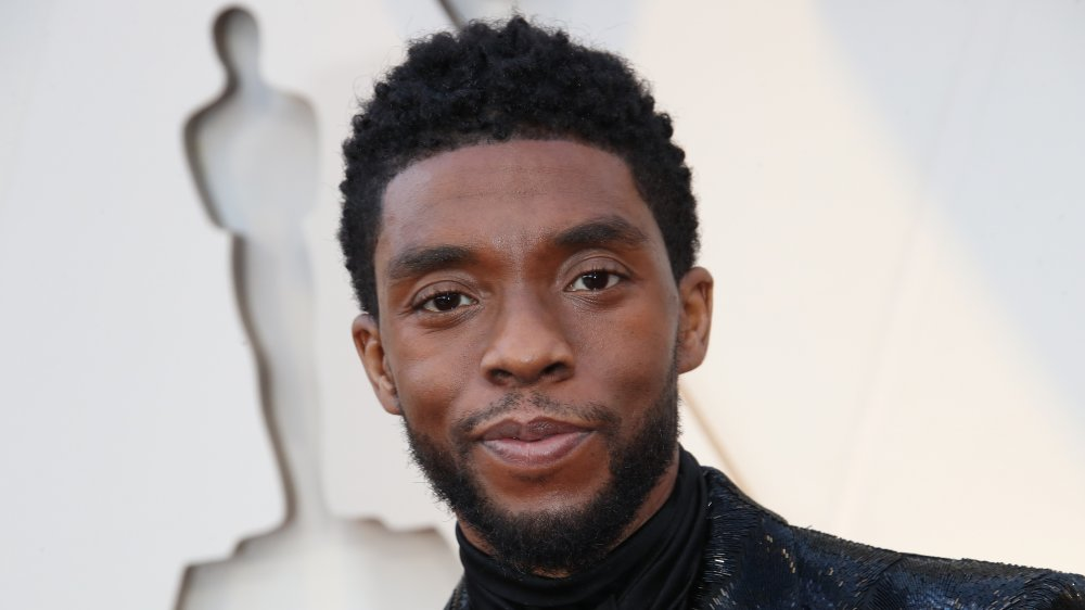 Chadwick Boseman attends the 90th Annual Academy Awards at Hollywood & Highland Center on March 4, 2018 in Hollywood, California