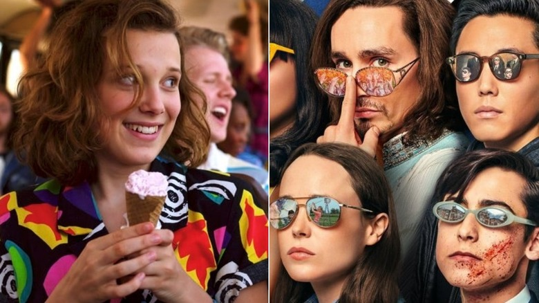 Millie Bobby Brown on Stranger Things and the cast of The Umbrella Academy