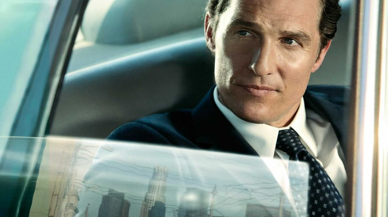 Matthew McConaughey as Mickey Haller in The Lincoln Lawyer
