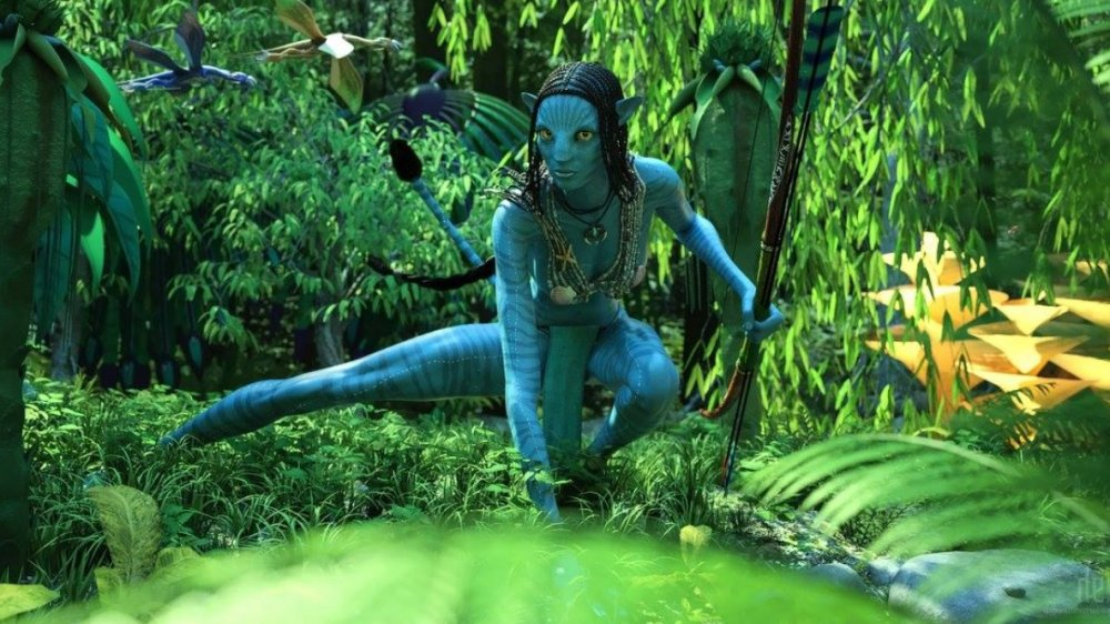 Fan art depicting the Na'vi from Avatar