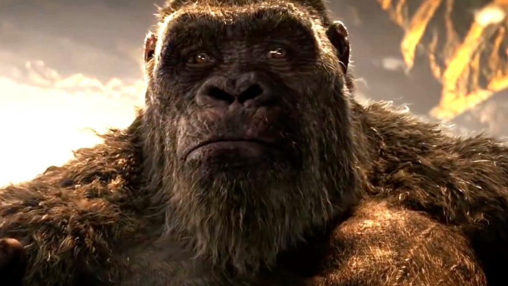 king kong face closeup