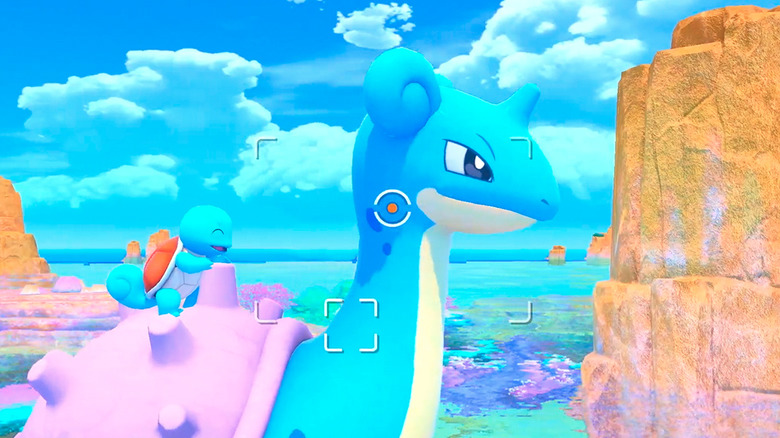 Lapras from New Pokemon Snap