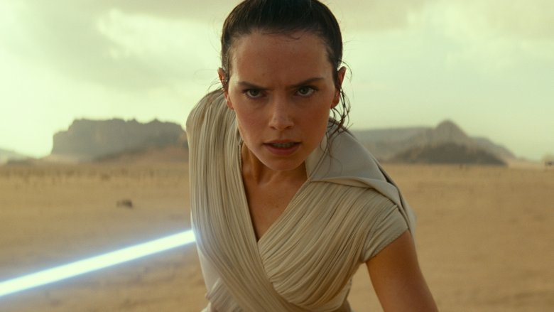 Daisy Ridley Rey The Rise of Skywalker