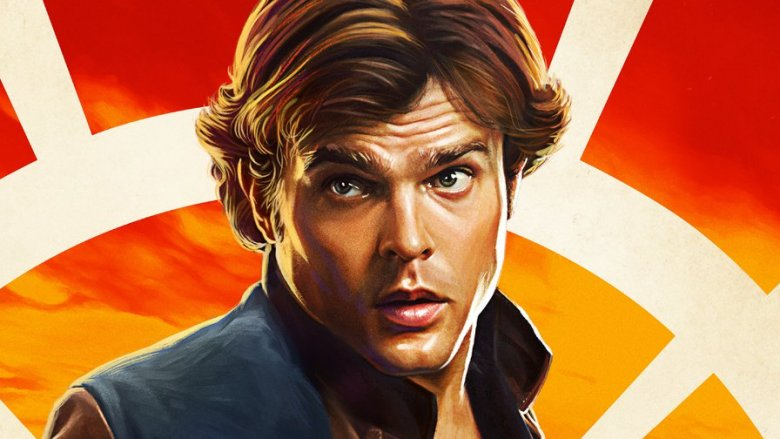 Alden Ehrenreich Han Solo Solo: A Star Wars Story character poster