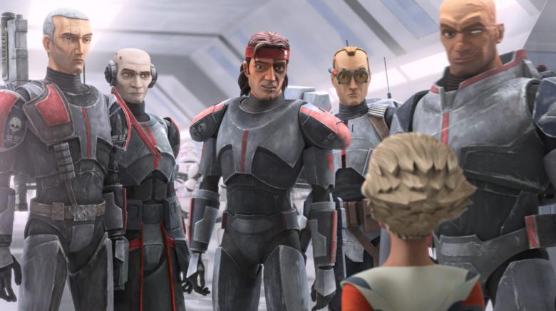 Clone Force 99 speaking