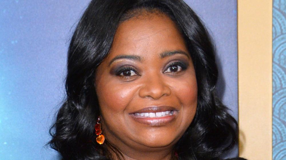 Octavia Spencer smiling